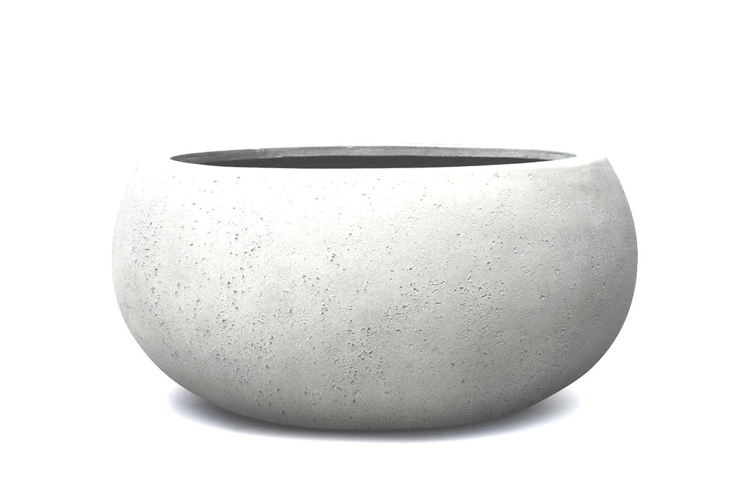 Casualife Planter – Low Balloon - Light Grey