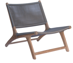 Relax Chair - Grey Open Weave