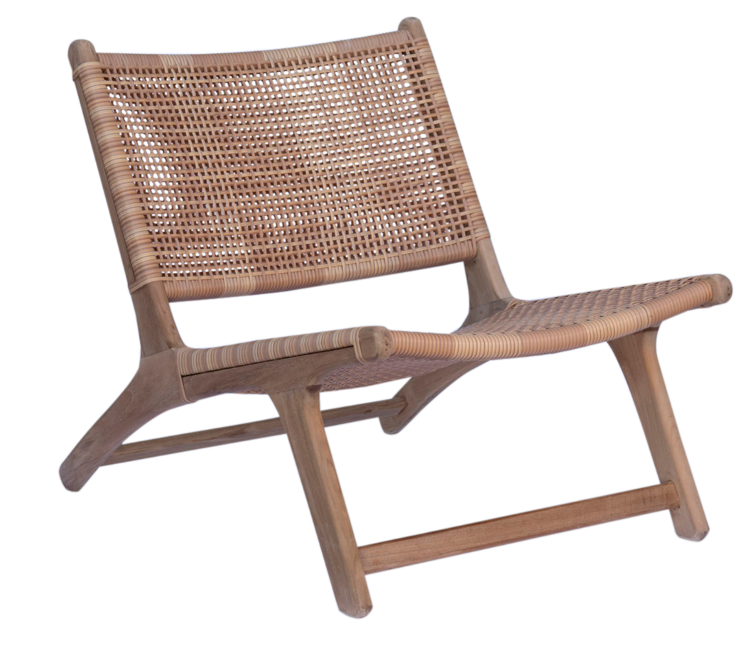 Relax Chair - Natural Open Weave