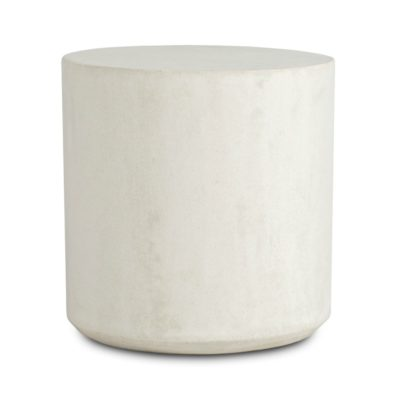 Concrete Round Side Table