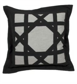 Outdoor - Cane Pillow - Midnight