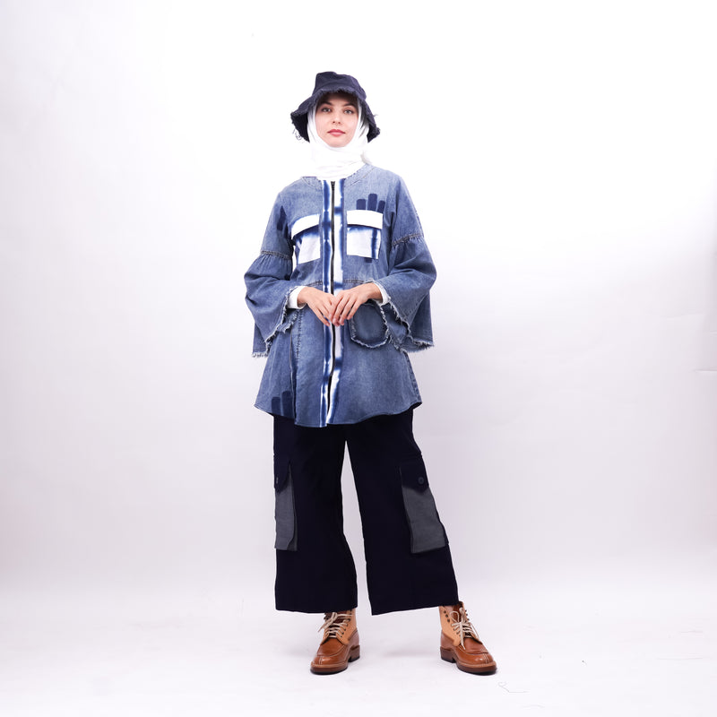 Noura Tunik Denim