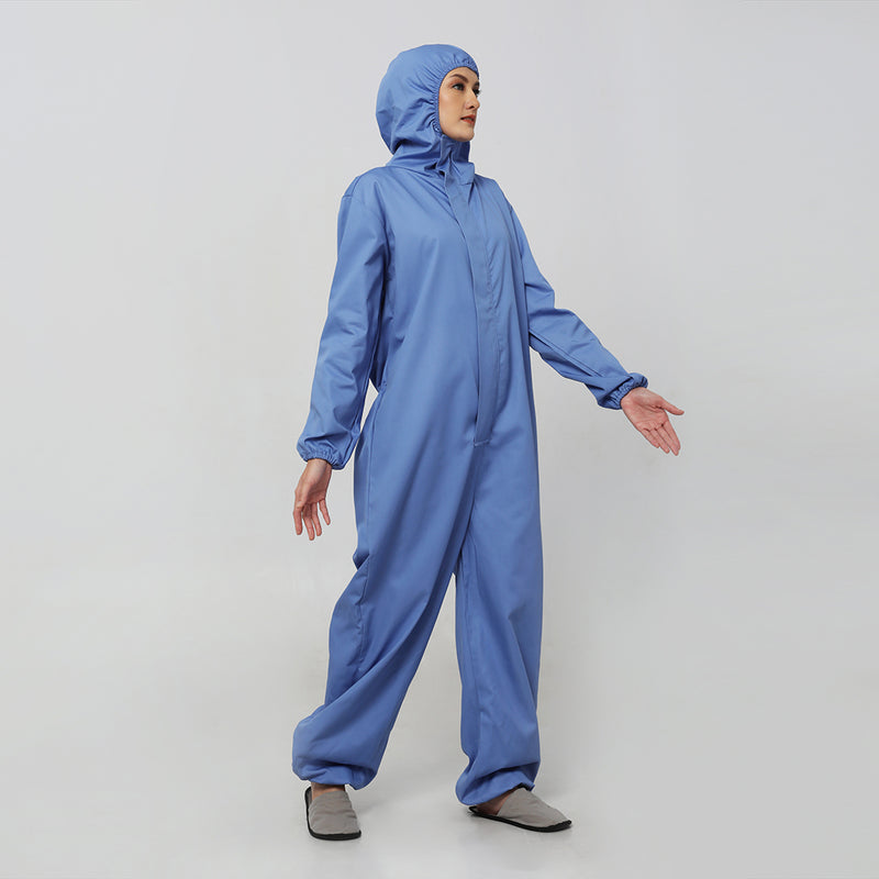 Coverall Suits Reusable Cotton Drill (Blue) by DIG