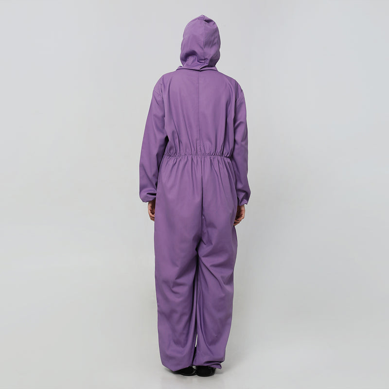 Coverall Suits Reusable Cotton Drill (Purple) by DIG