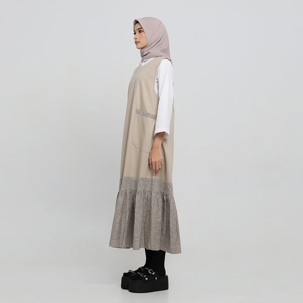 Outer Ellie Light Brown Kutung