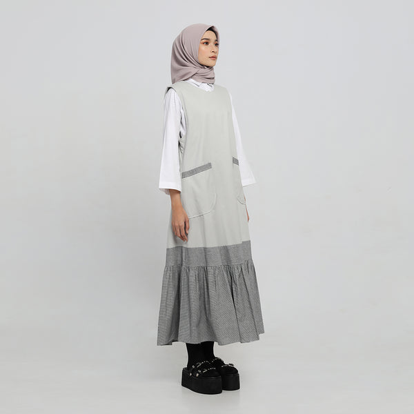 Outer Latika Light Grey Kutung