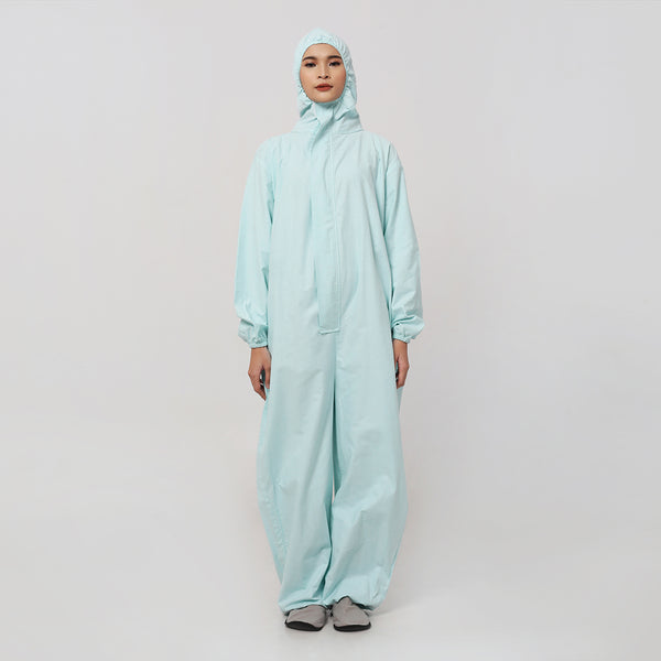 Coverall Suits Reusable Cotton Light Blue (Drill) by DIG