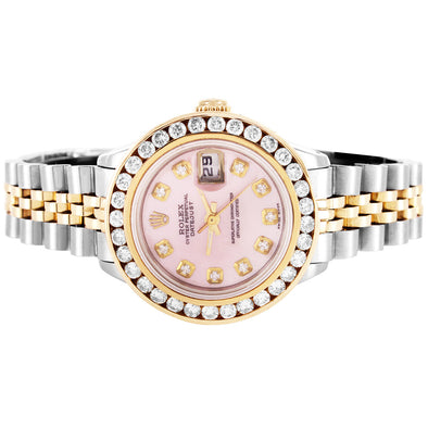 rolex 26 mm datejust two tone womens