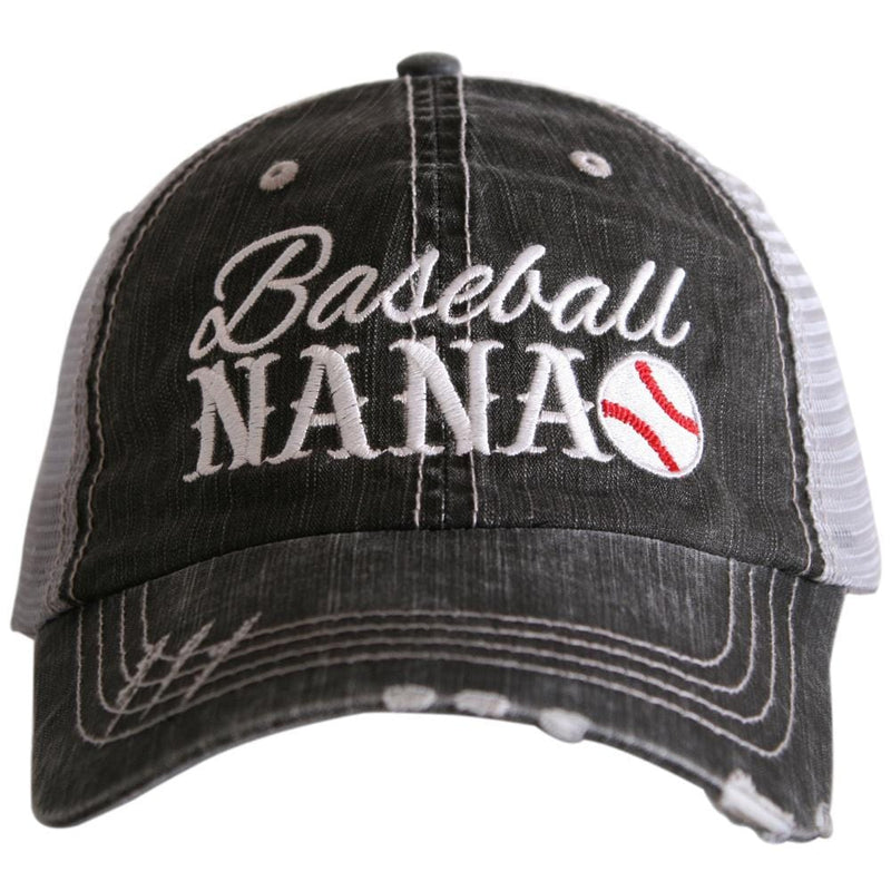 Baseball Nana Trucker Hats