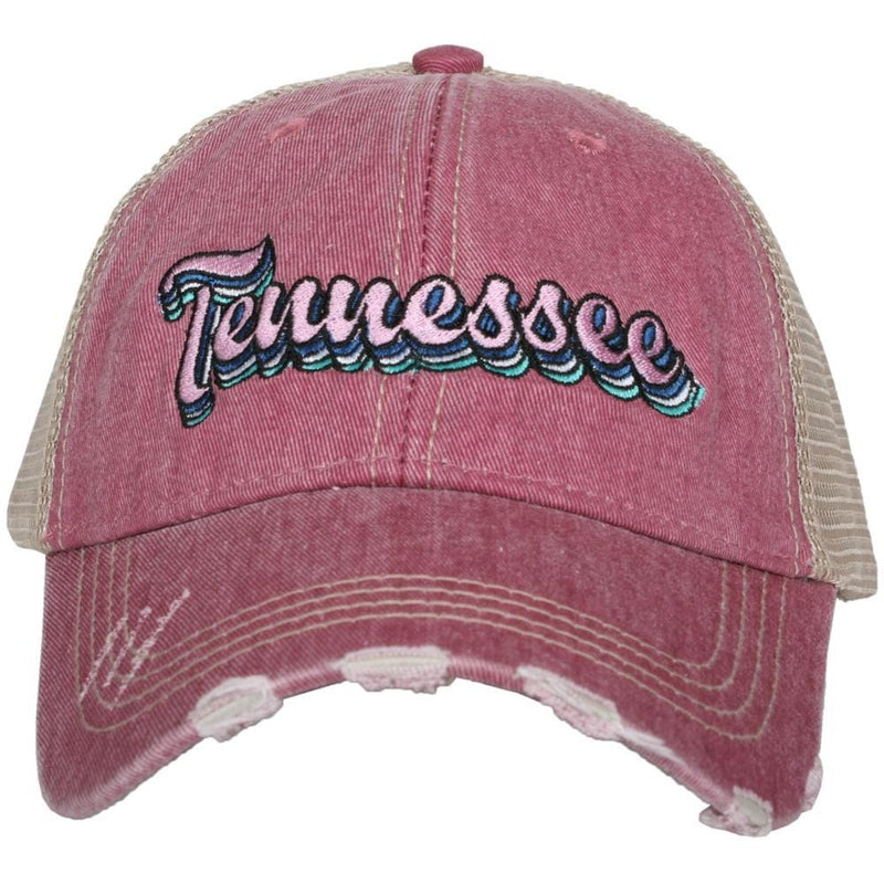 Tennessee Layered Trucker Hats