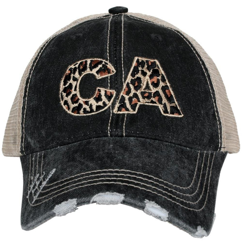 Katydid CA California Leopard State Wholesale Hat