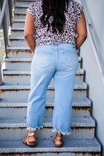 Summer Delight Cropped Jeans