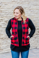 12.05 Est. Arrival Buffalo Plaid Vest COMING SOON
