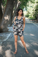 Ready For It Camouflage Short Set