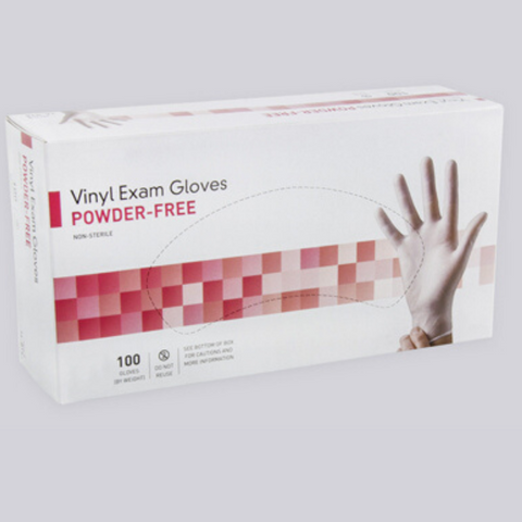 Vinyl PVC Gloves (Box of 100)