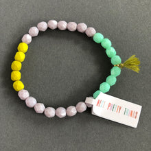 Load image into Gallery viewer, Colorful Bead + Tassel Bracelet