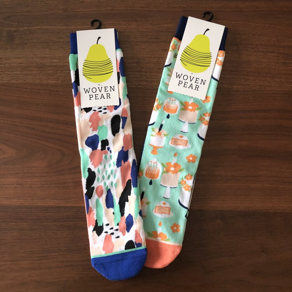 Fun Print Socks by Woven Pear
