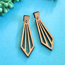 Load image into Gallery viewer, Ray - Wood Drop Earrings