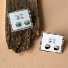 Load image into Gallery viewer, Geometric Stud Earrings