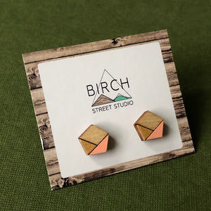 Geometric Stud Earrings