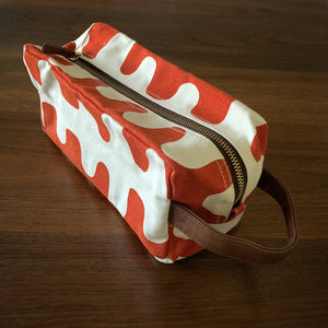 Canvas Travel Bag - Echo Tangerine