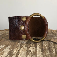 Load image into Gallery viewer, Leather Cuff Bracelet
