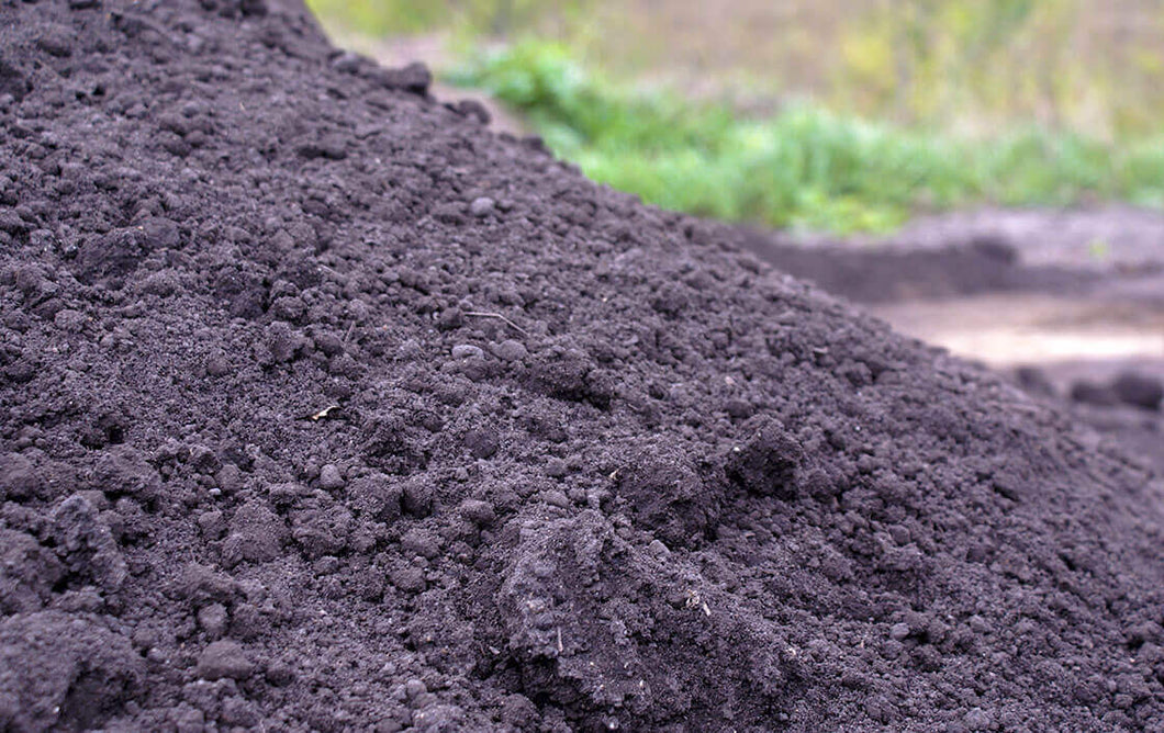 Top Soil Screened Black Dirt