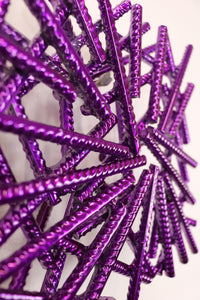 Maze Petite Purple Chrome