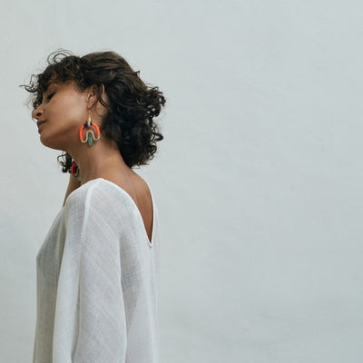Aventurina earrings
