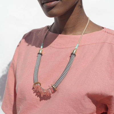 Egun Rose necklace