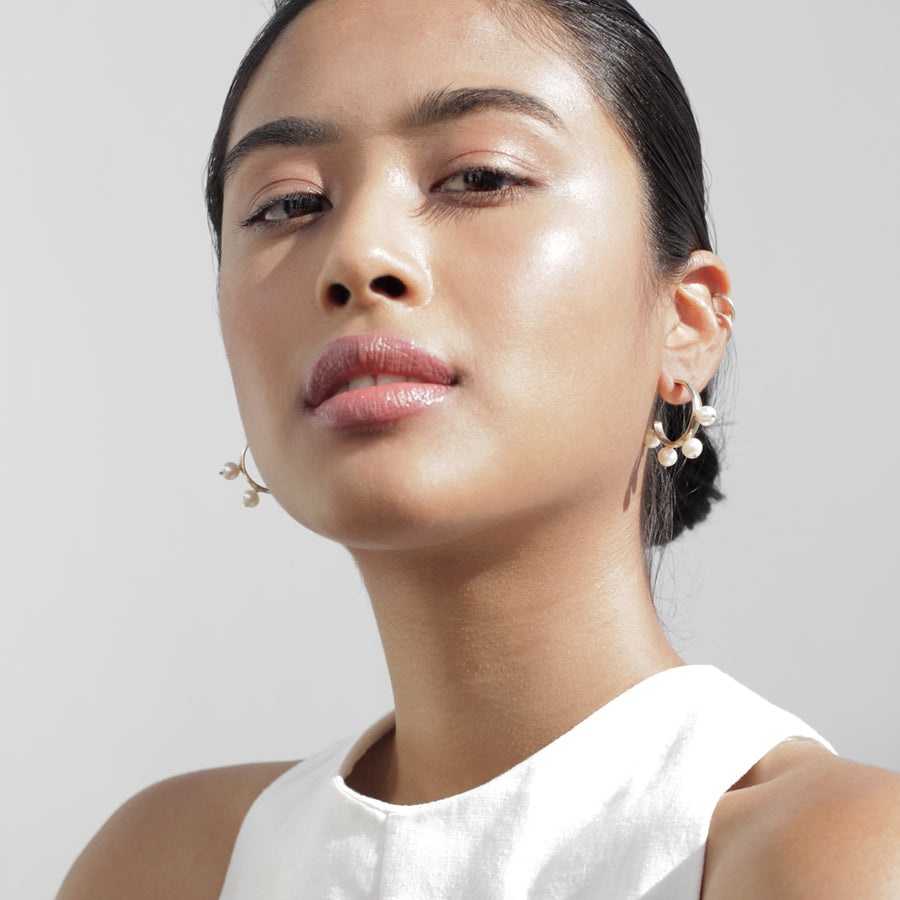 Garland Hoop earrings
