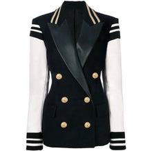 Load image into Gallery viewer, Varsity Blazer Double Breasted Blazer