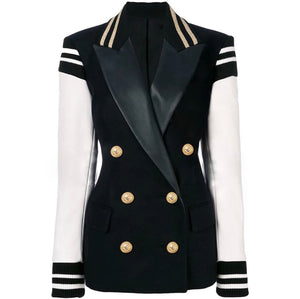 Varsity Blazer Double Breasted Blazer