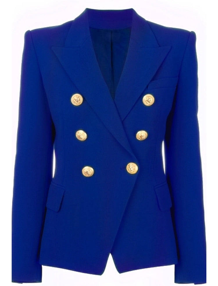 Royal Double Breasted Blazer