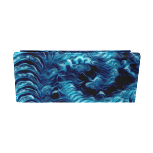 "Foldable Glasses Case- ""Blue Maelstrom"""