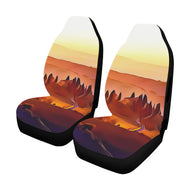 Car Seat Cover Italian Countryside 1 Airbag Compatible(Set of 2)