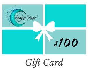 Gift Card-   Starshine Designs Art   (* Choose Amount from Drop-down Menu *)