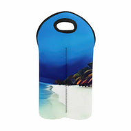 Beach in a Storm  2-Bottle Neoprene Wine Bag