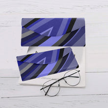 "Load image into Gallery viewer, Foldable Glasses Case - ""Blue Wave"""