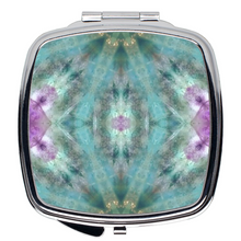Load image into Gallery viewer, Compact Mirror- Fluorite Stars