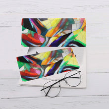 "Load image into Gallery viewer, Foldable Glasses Case - ""Jungle Birds"""