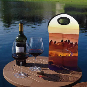 Italian Countryside 1  2-Bottle Neoprene Wine Bag