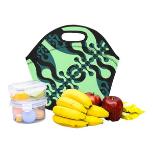Neoprene Lunch Tote- Wiggle Darks