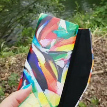 "Load and play video in Gallery viewer, Foldable Glasses Case - ""Jungle Birds"""