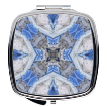 Load image into Gallery viewer, Compact Mirror- Kyanite Cube