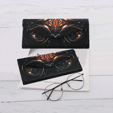 "Load image into Gallery viewer, Folding Glasses Case- ""Fire & Ice"""