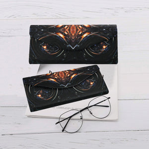 "Folding Glasses Case- ""Fire & Ice"""