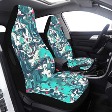 Load image into Gallery viewer, Car Seat Cover Teal Camo Side Airbag Car Seat Cover Airbag Compatible(Set of 2)