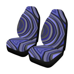 Car Seat Cover Airbag Compatible Blue Haze Car Seat Cover Airbag Compatible(Set of 2)
