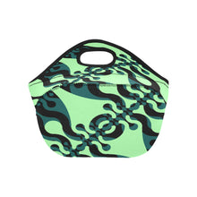 Load image into Gallery viewer, Neoprene Lunch Tote- Wiggle Darks